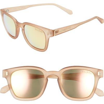 Lilly Pulitzer Josie 4m Rectangular Sunglasses - Matte Crystal Gold