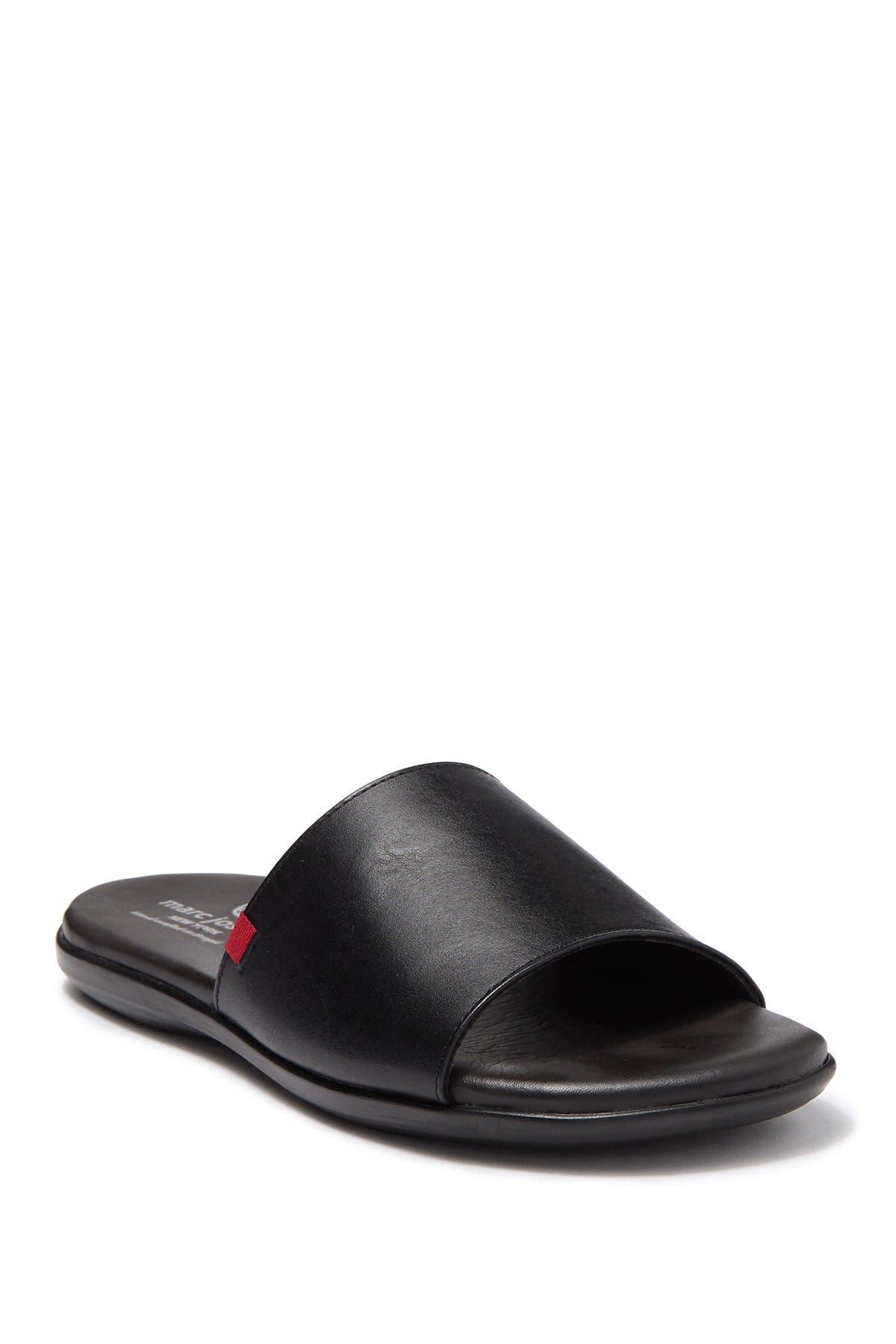 Image of Marc Joseph New York Vineyard Leather Slide Sandal