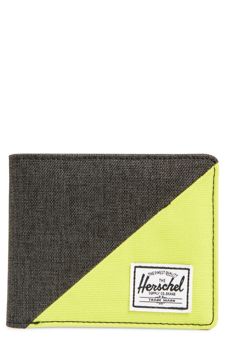 HERSCHEL SUPPLY CO. Roy RFID Wallet, Main, color, 012