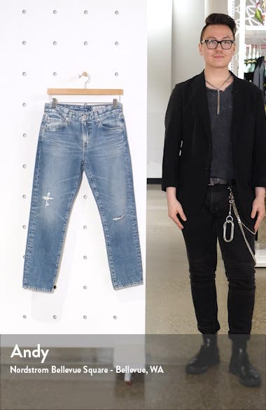 The Ex-Boyfriend Ripped Ankle Slim Jeans, sales video thumbnail