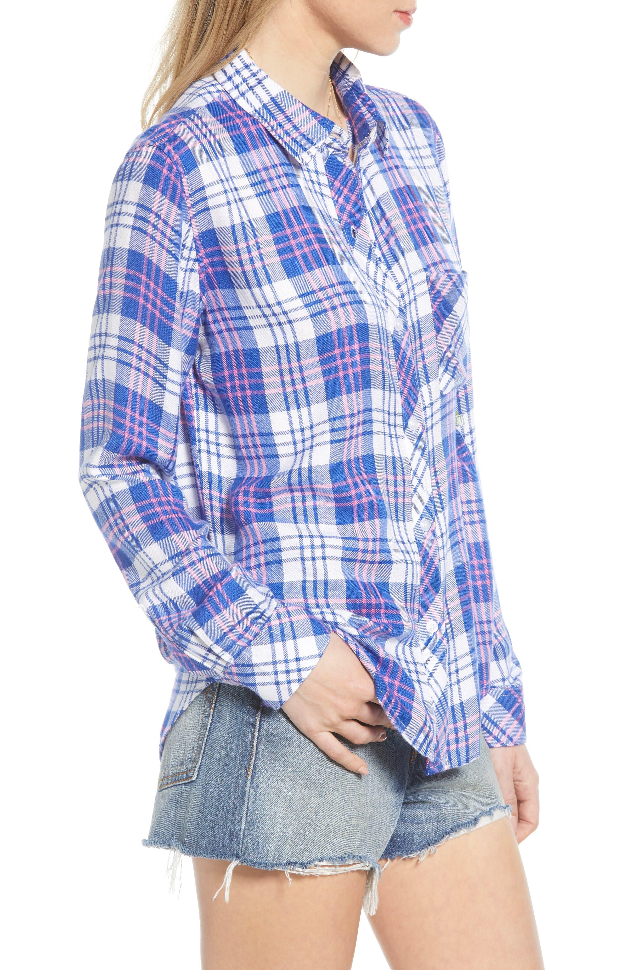 ,                             Hunter Plaid Shirt,                             Alternate thumbnail 122, color,                             425