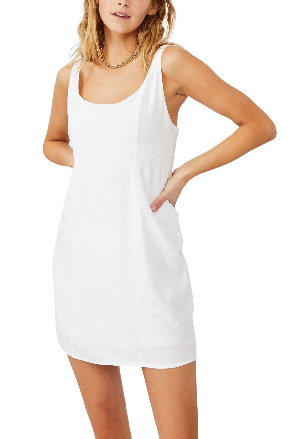 Image of Cotton On Woven Libby Strappy Mini Dress