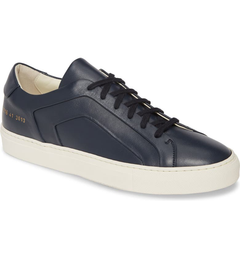 COMMON PROJECTS Achilles Multi-Ply Sneaker, Main, color, NAVY