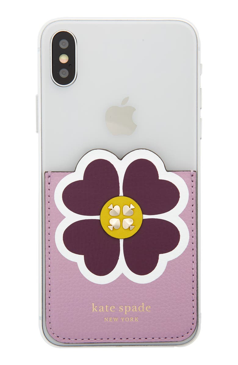 Floral Phone Pocket by Kate Spade New York