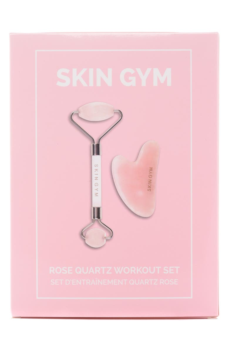 SKIN GYM Rose Quartz Workout Set, Main, color, NO COLOR