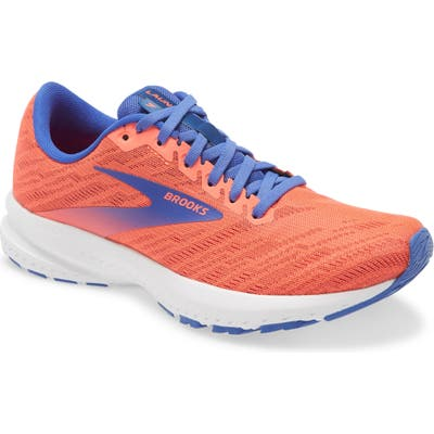 Brooks Launch 7 Running Shoe, Coral