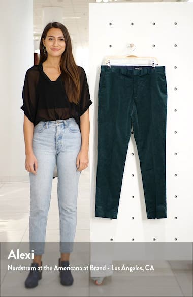 A-List Skinny Fit Velveteen Trousers, sales video thumbnail