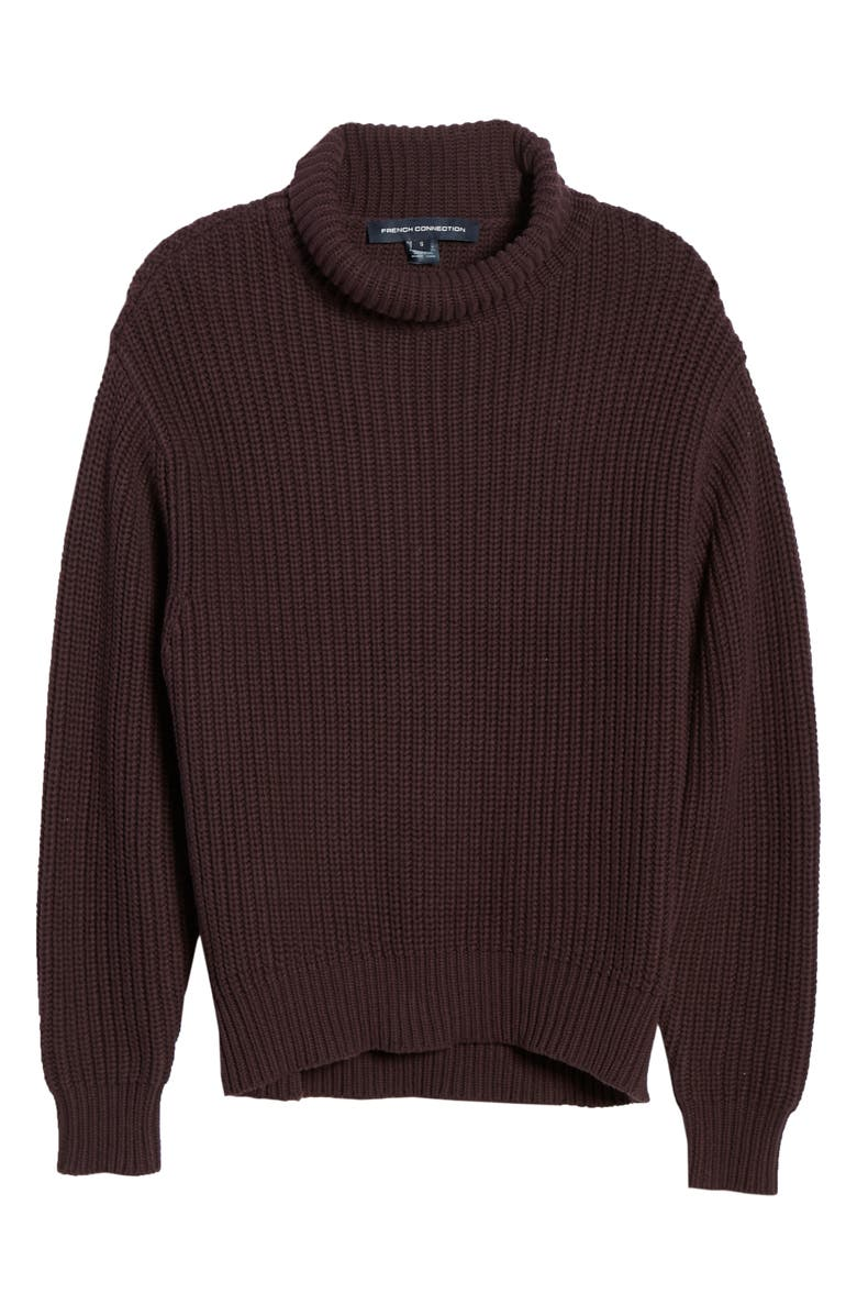 FRENCH CONNECTION Millie Mozart Turtleneck, Alternate, color, DECADENCE