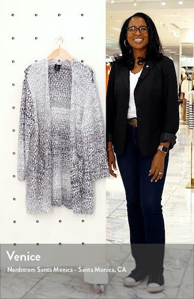 Harper Ombrè Eyelash Cardigan, sales video thumbnail