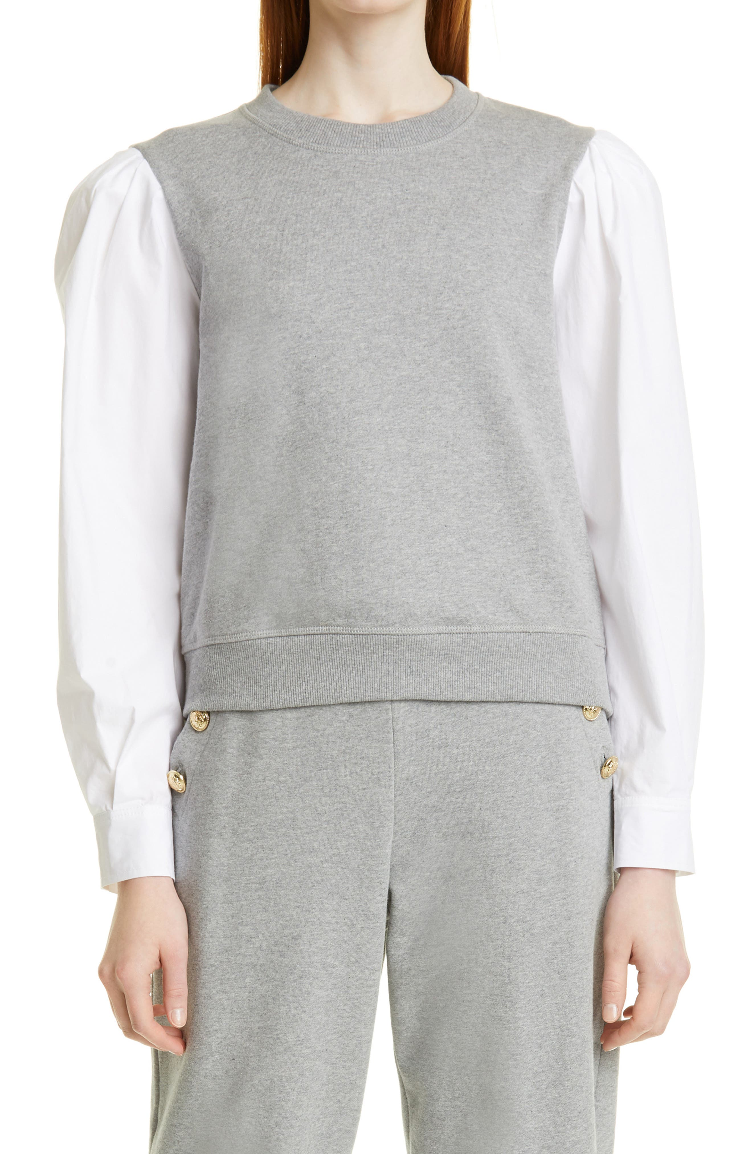 Milton Mix Media Sweatshirt