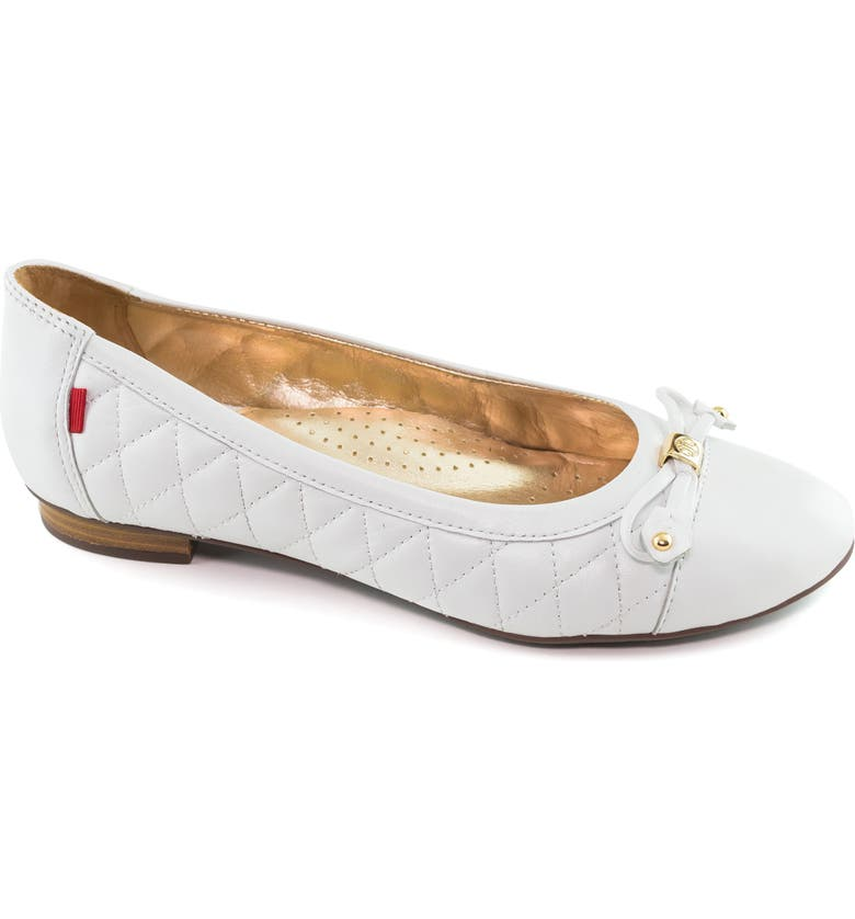 MARC JOSEPH NEW YORK Pearl Street Flat, Main, color, WHITE NAPPA LEATHER