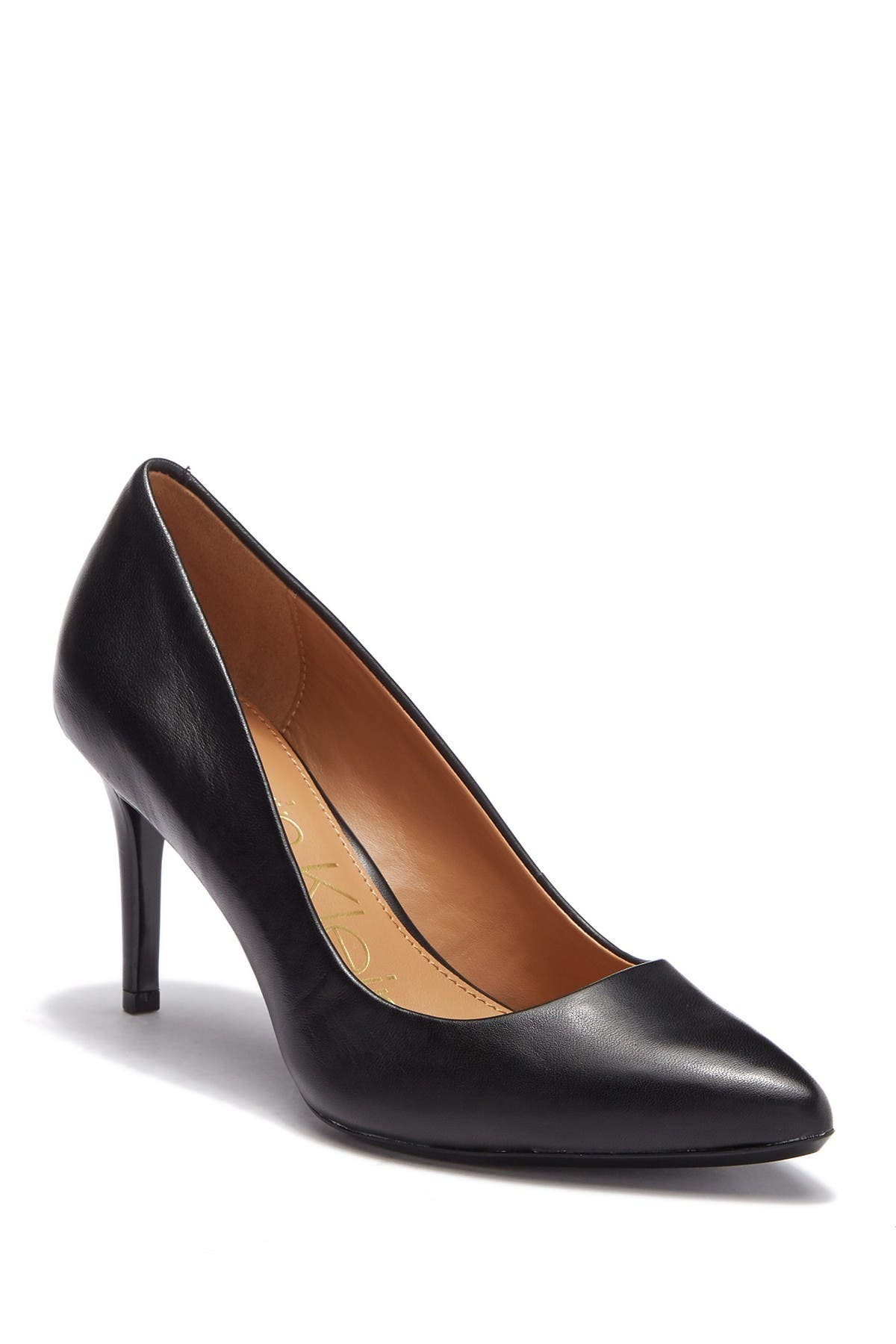 Image of Calvin Klein Kamara Nappa Smooth Leather Pump