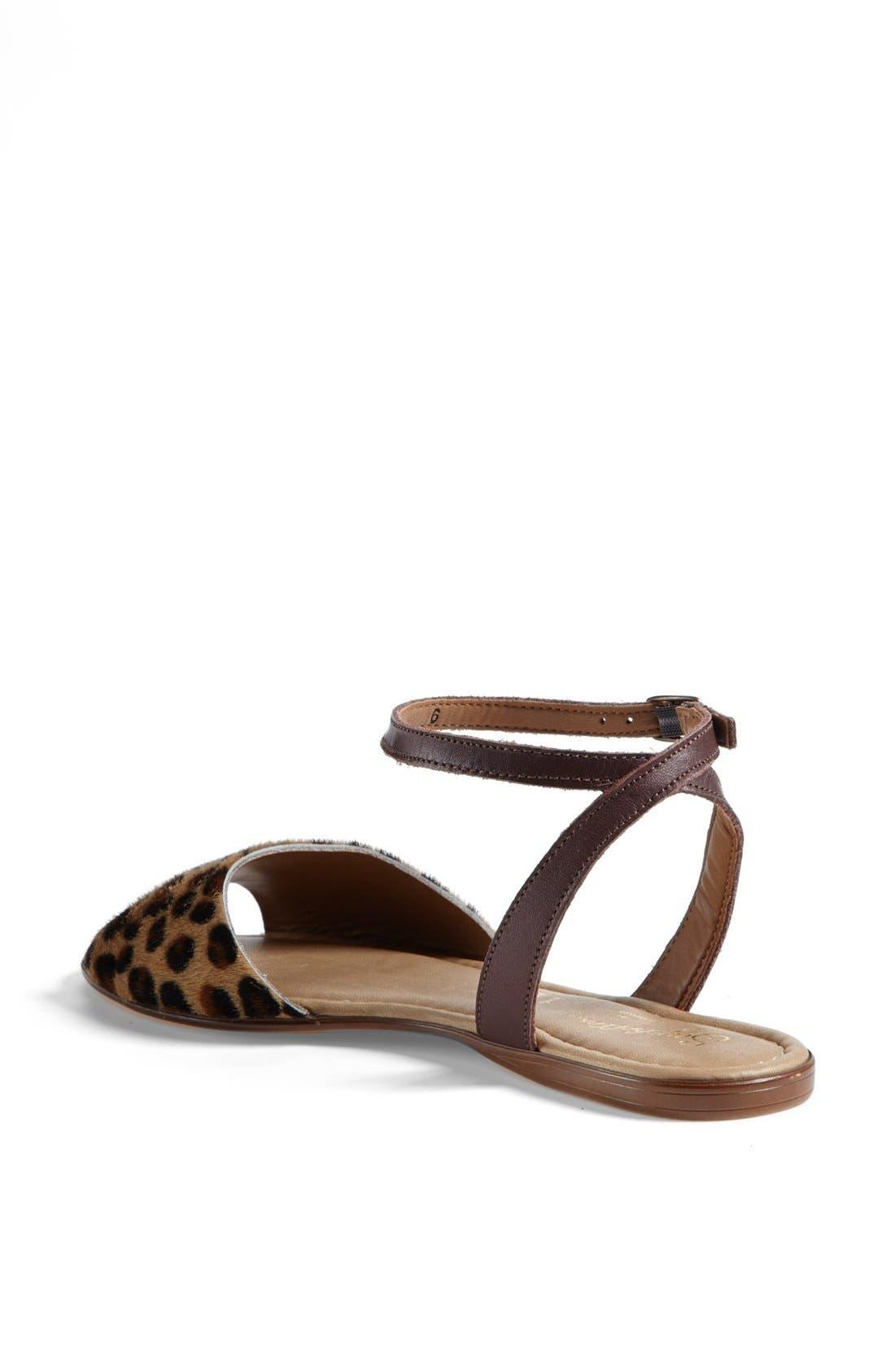 ,                             'Brand New' Ankle Strap Calf Hair Sandal,                             Alternate thumbnail 16, color,                             240