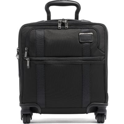 Tumi Merge Small Compact 4 Wheel Rolling Briefcase - Black