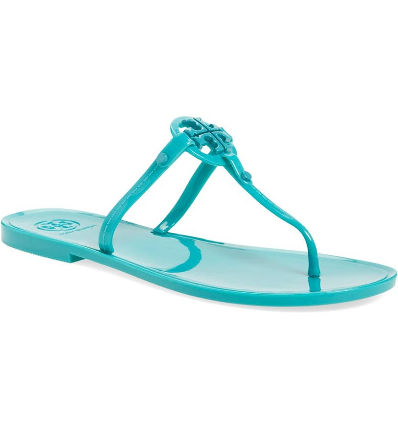 TORY BURCH Jelly Thong Sandal, Main, color, 424