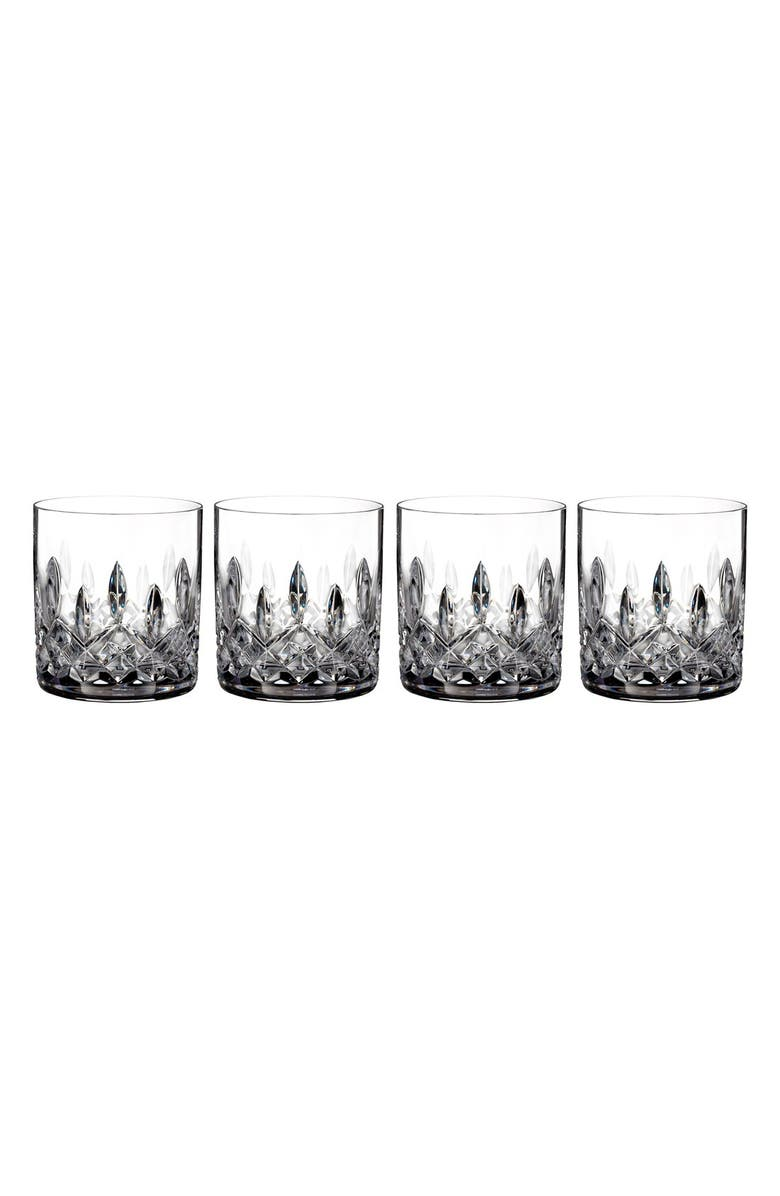 WATERFORD 'Lismore' Lead Crystal Straight Sided Tumblers, Main, color, CLEAR