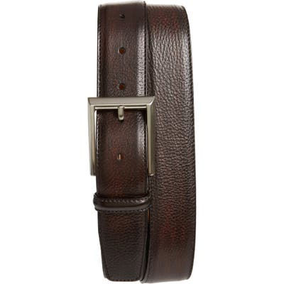 Magnanni Rocas Leather Belt, Brown