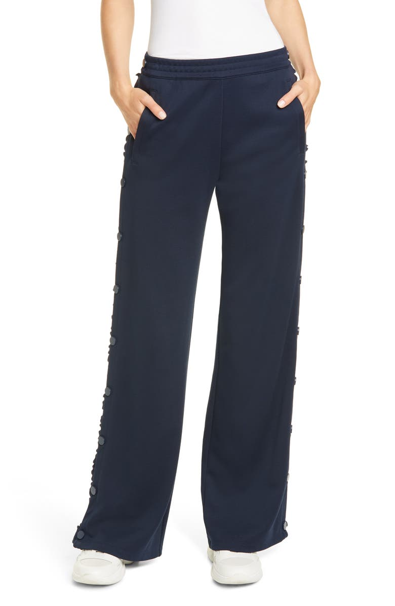 TORY SPORT BY TORY BURCH Tory Sport Ruffle Tear Away Track Pants, Main, color, 405