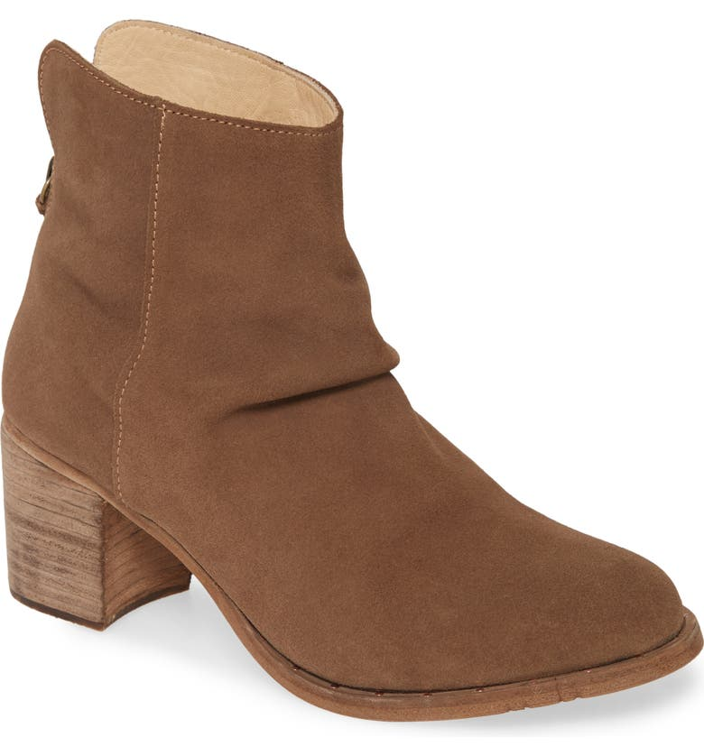 BEEK Strix Slouchy Bootie, Main, color, TAUPE/ SUEDE