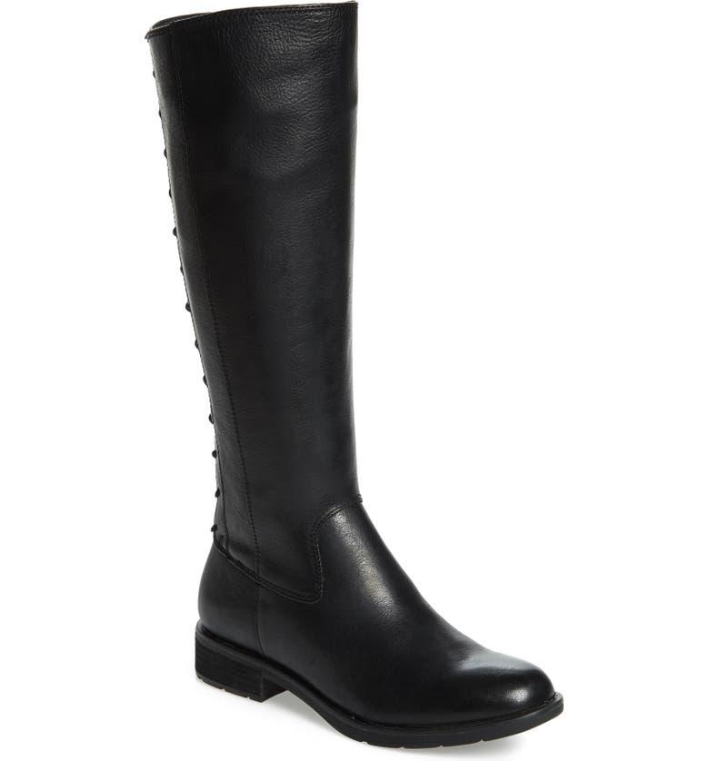 SÖFFT Sharnell II Waterproof Knee High Boot, Main, color, 001