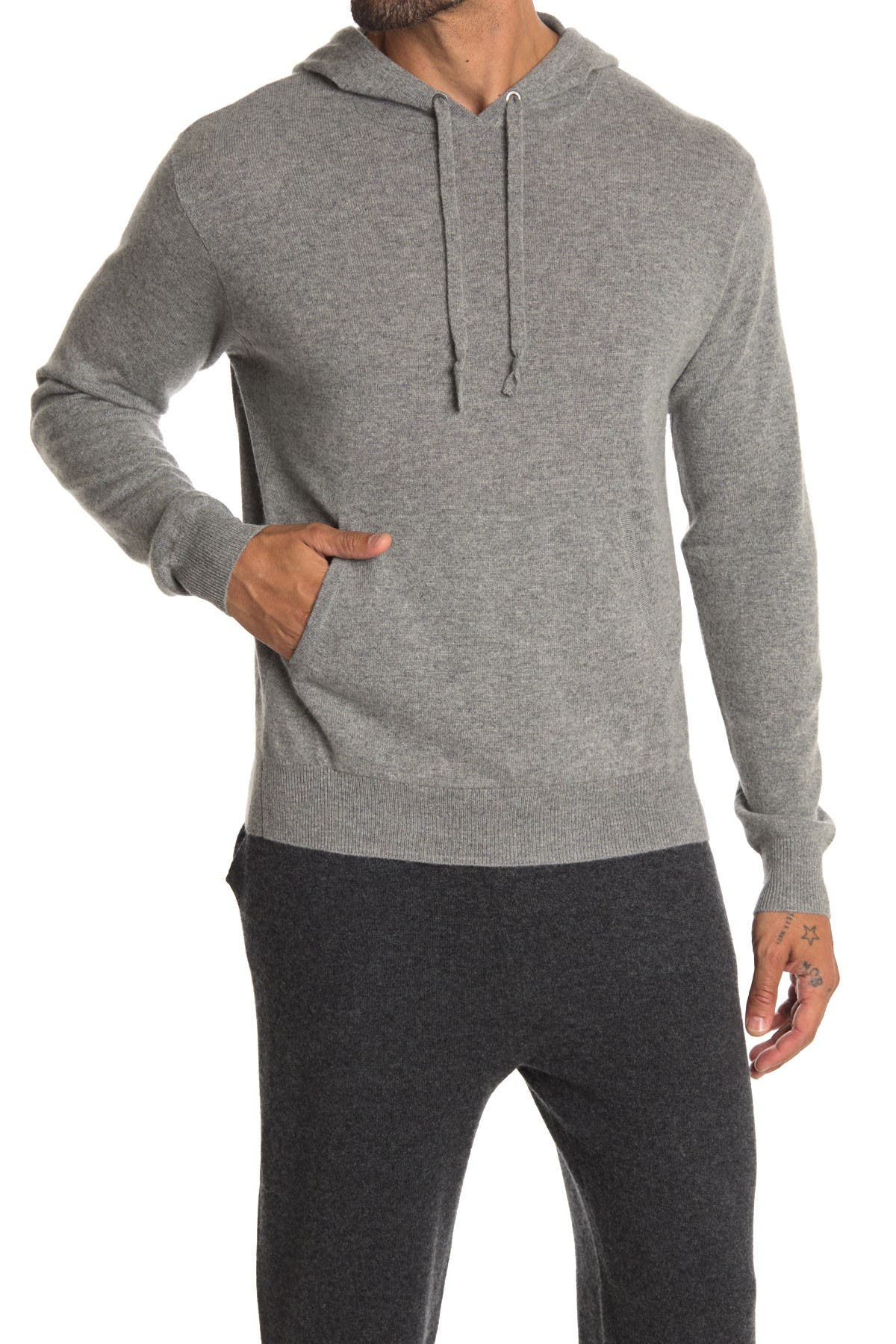 Image of Stewart of Scotland Cashmere Pullover Hoodie