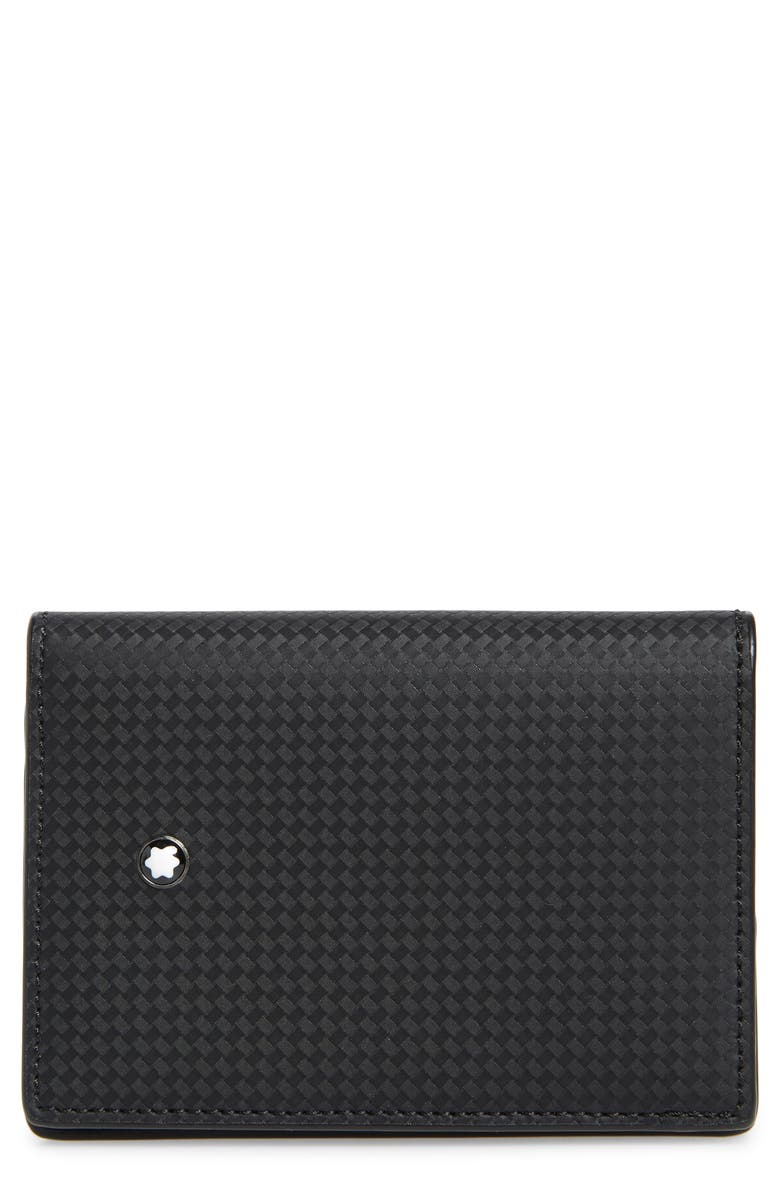 MONTBLANC Extreme 2.0 Leather RFID Card Case, Main, color, BLACK