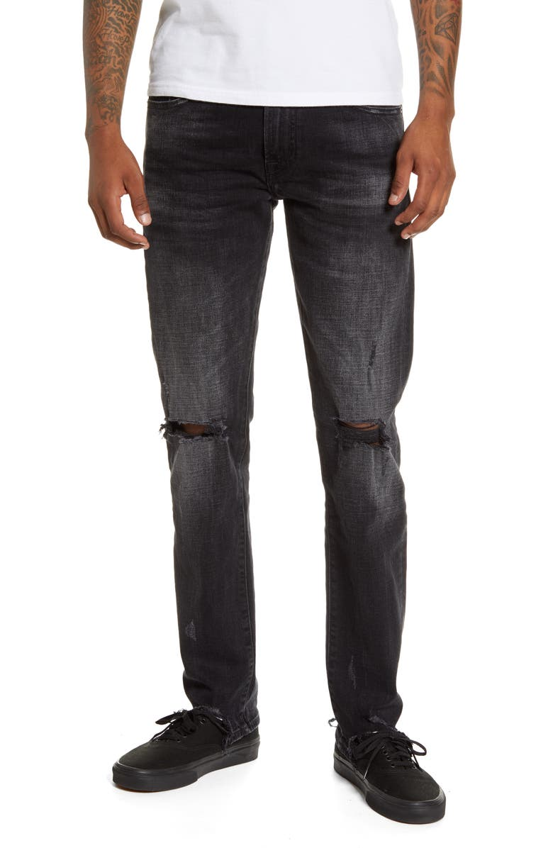 7 FOR ALL MANKIND<SUP>®</SUP> Paxtyn Skinny Fit Jeans, Main, color, MULHOLLAND