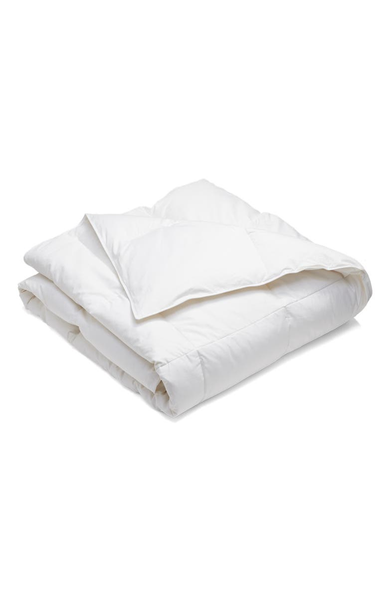 NORDSTROM AT HOME Lightweight Goose Down Comforter, Main, color, WHITE
