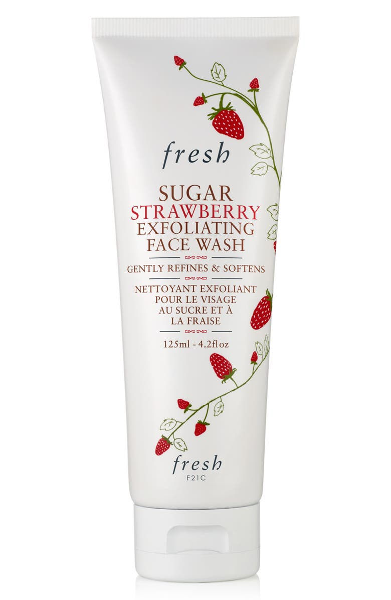 FRESH<SUP>®</SUP> Sugar Strawberry Exfoliating Face Wash, Main, color, NO COLOR