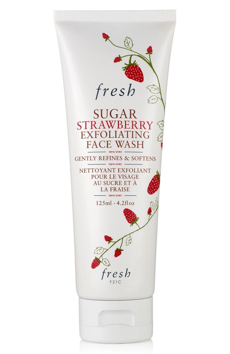 FRESH<SUP>®</SUP> Sugar Strawberry Exfoliating Face Wash, Main, color, NO COLOR
