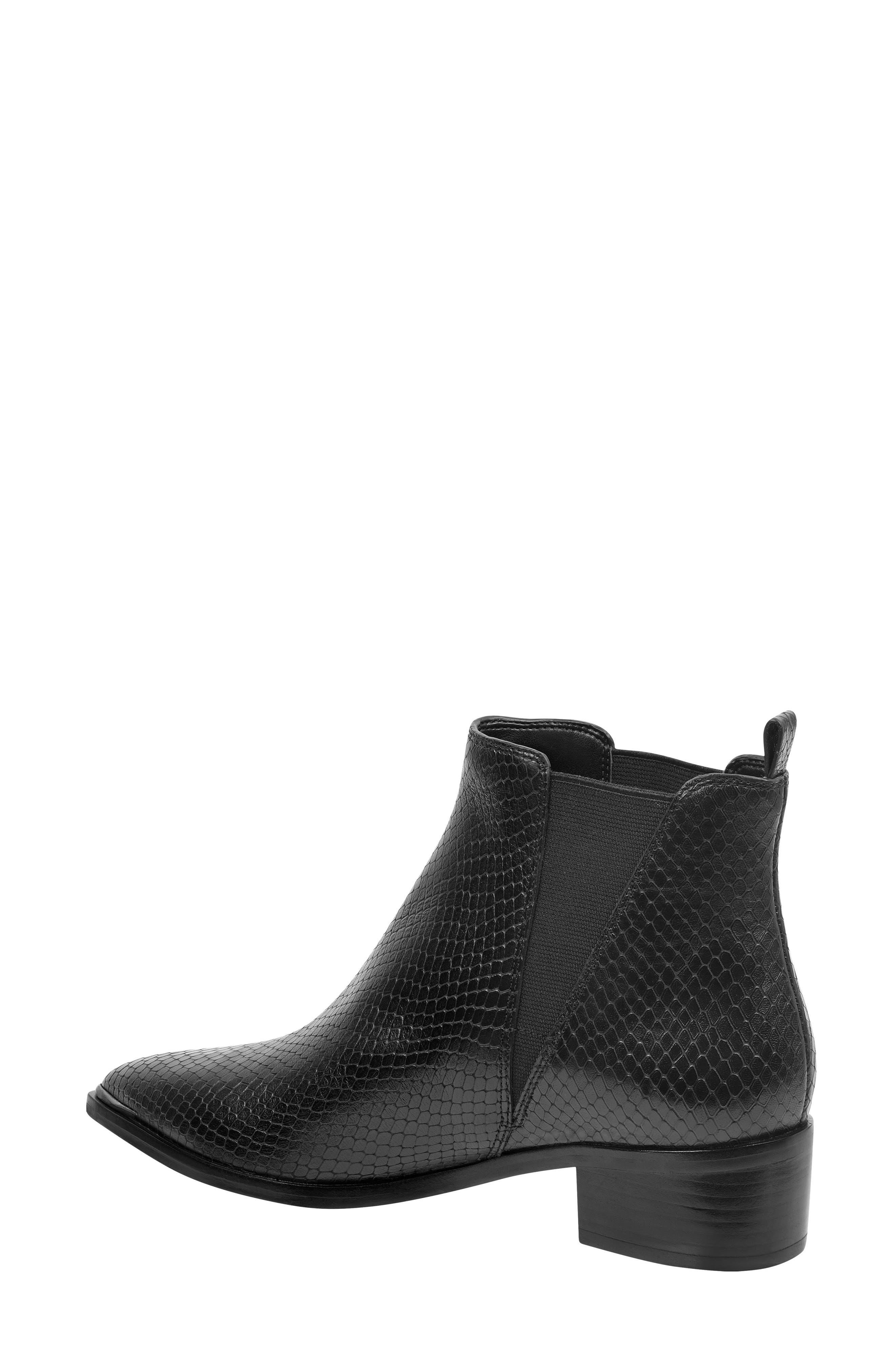 ,                             'Yale' Chelsea Boot,                             Alternate thumbnail 2, color,                             BLACK SNAKE