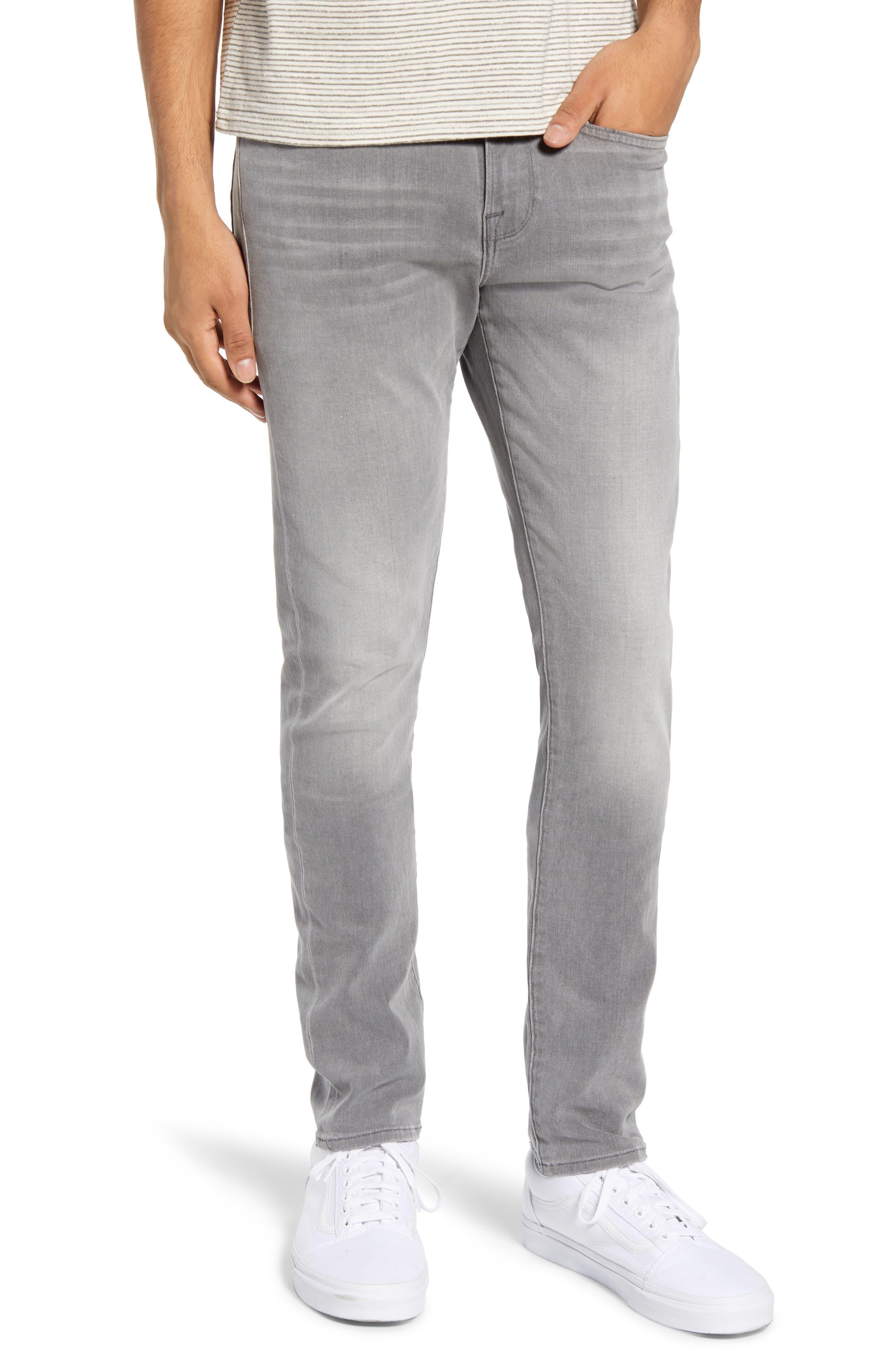 Men's Frame L'Homme Slim Fit Jeans,  36 - Grey