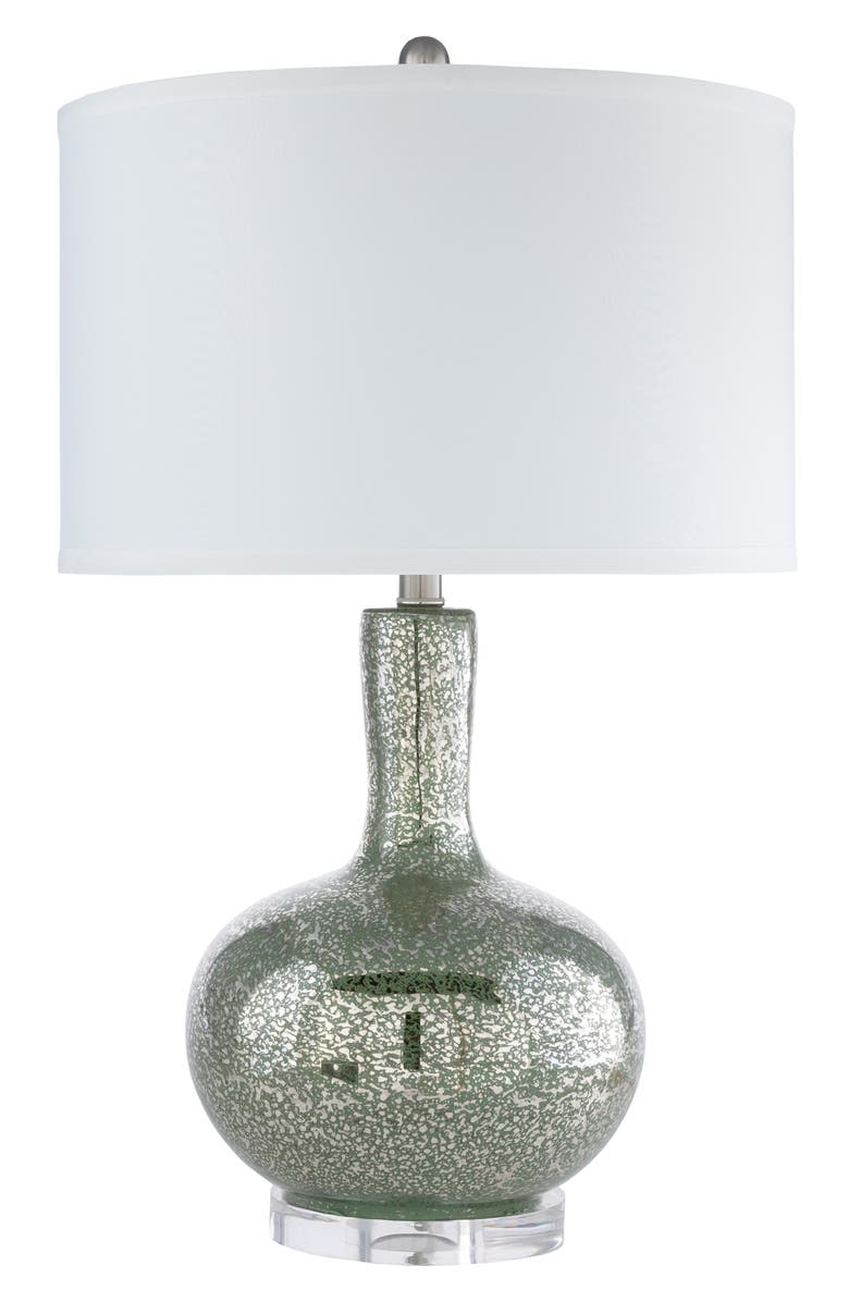 SURYA HOME Emma Table Lamp, Main, color, AQUA