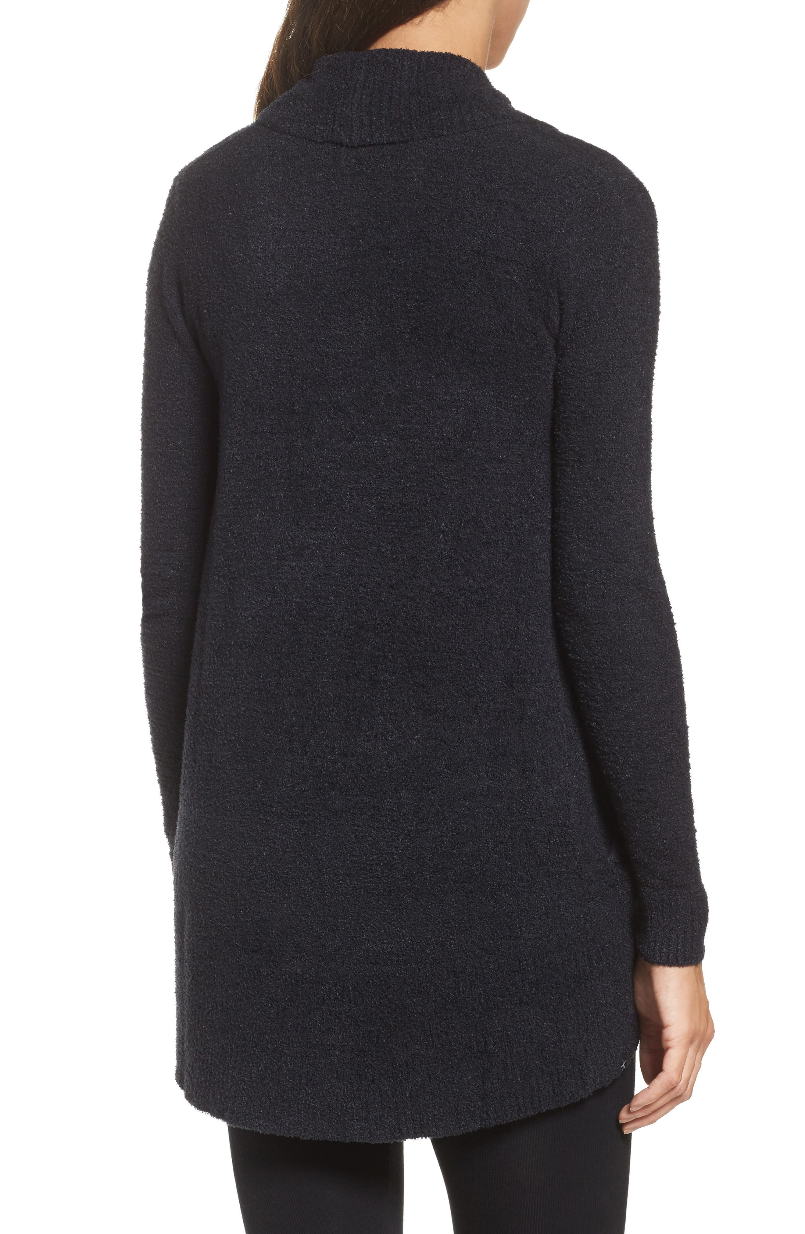 ,                             CozyChic Lite<sup>®</sup> Circle Cardigan,                             Alternate thumbnail 2, color,                             BLACK