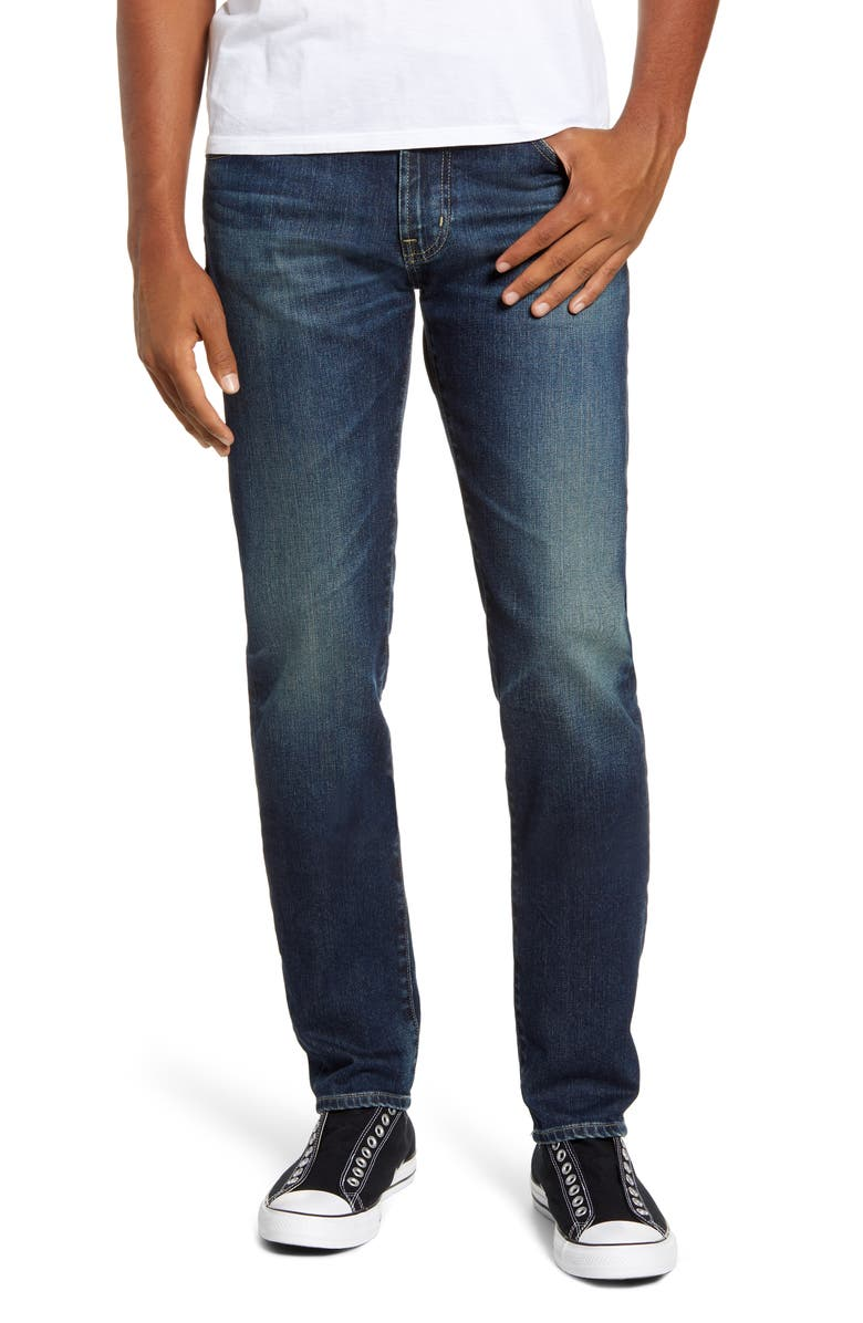AG Dylan Skinny Fit Jeans, Main, color, 5 YEARS SURVEYOR