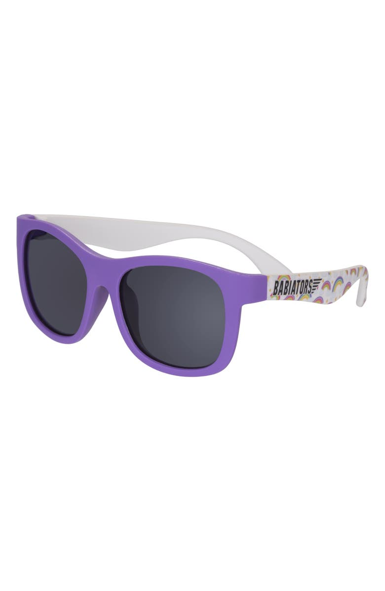 BABIATORS Navigator Sunglasses, Main, color, OVER THE RAINBOW