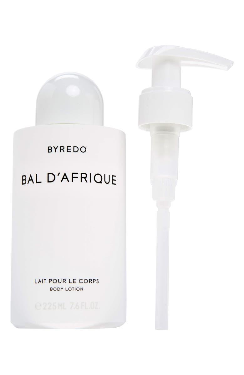BYREDO Bal d'Afrique Body Lotion, Main, color, NO COLOR