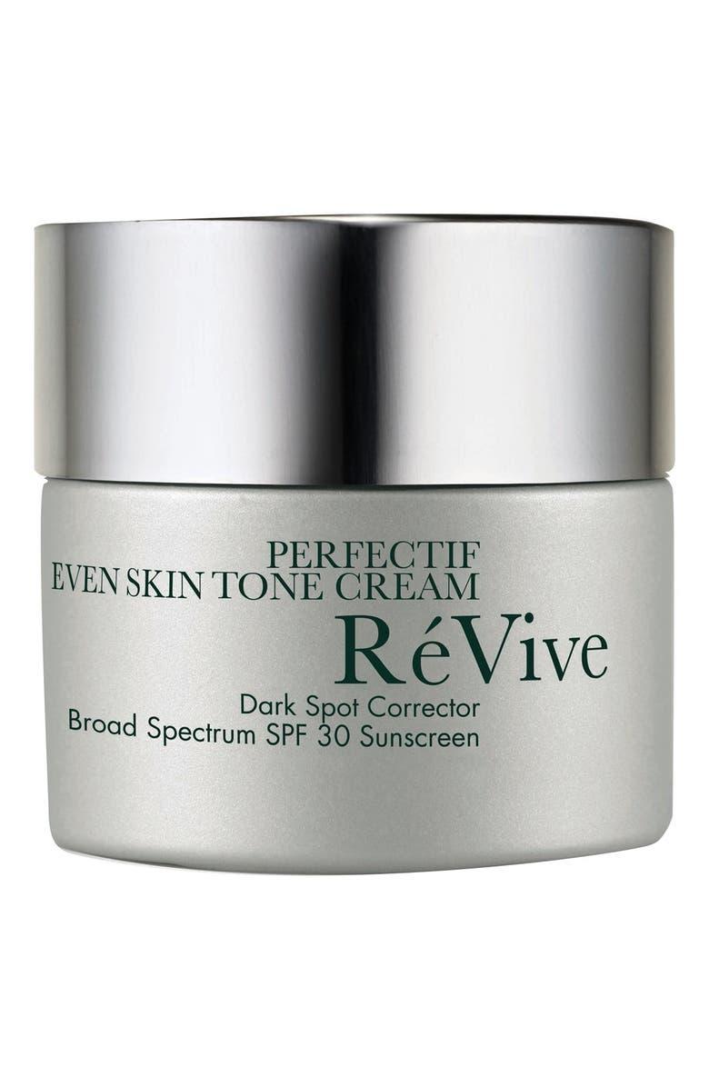 RÉVIVE<SUP>®</SUP> Perfectif Even Skin Tone Cream SPF 30 Sunscreen, Main, color, NO COLOR