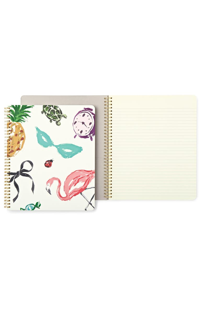 KATE SPADE NEW YORK 'favorite things' notebook, Main, color, 100