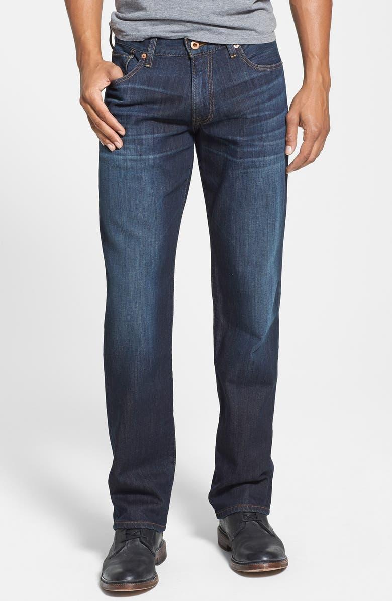 58fa8e12 Lucky Brand '221 Original' Straight Leg Jeans (Barite) | Nordstrom