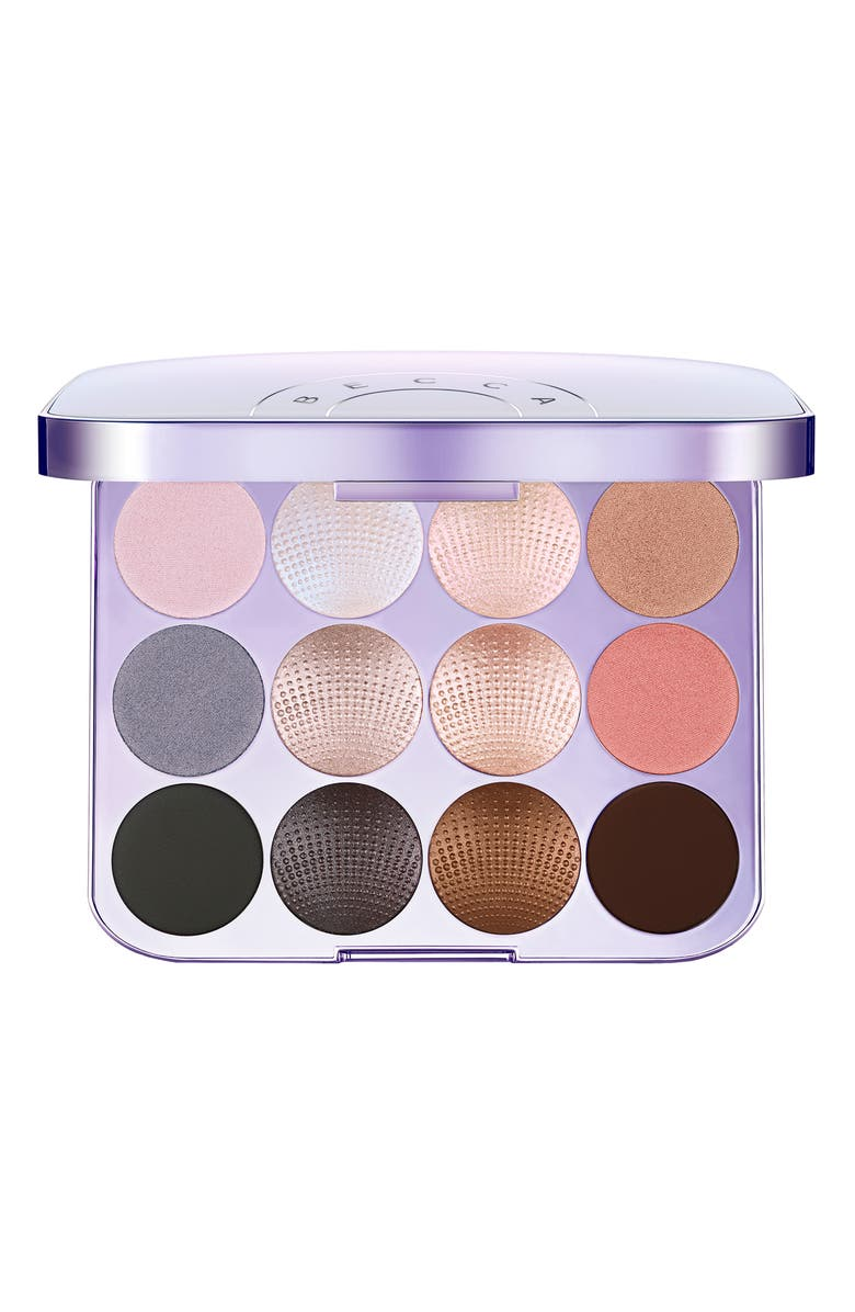 BECCA COSMETICS BECCA Pearl Glow Shimmering Eyeshadow Palette, Main, color, 000