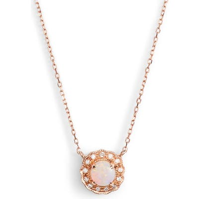 Dana Rebecca Designs Charlie Caroline Opal Pendant Necklace