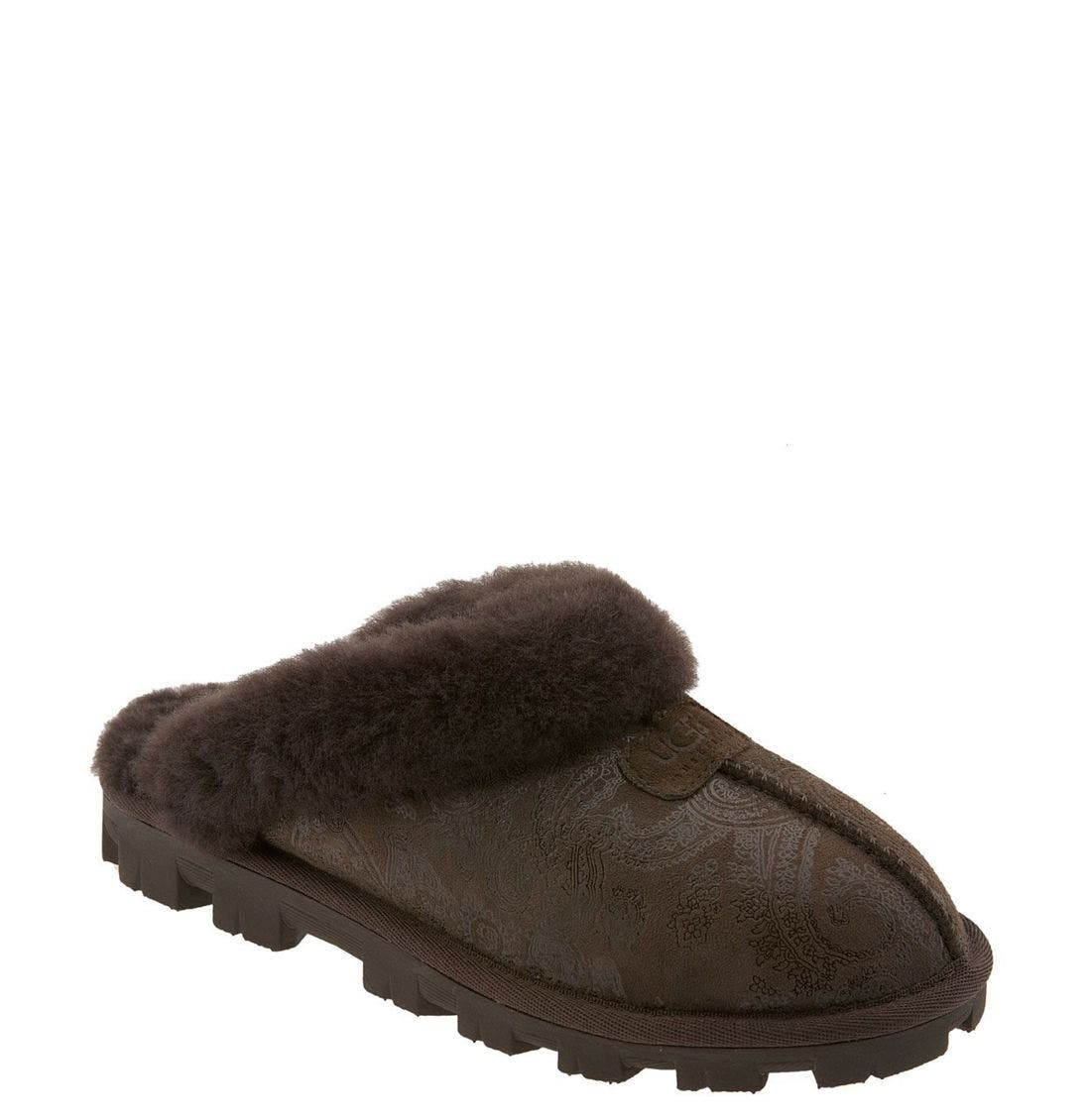 ,                             Genuine Shearling Slipper,                             Main thumbnail 112, color,                             200