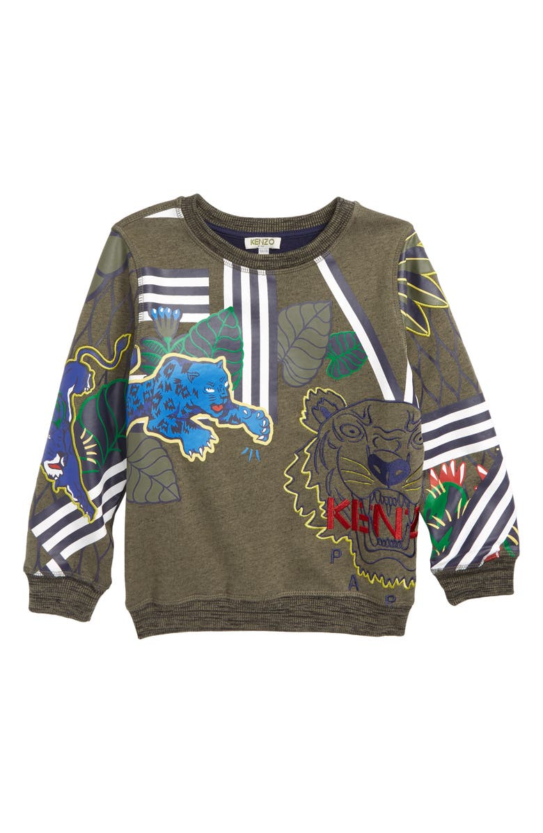 KENZO Multi Iconics Sweatshirt Toddler Boys Little Boys Big Boys