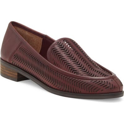 Lucky Brand Camdyn Cutout Loafer, Red