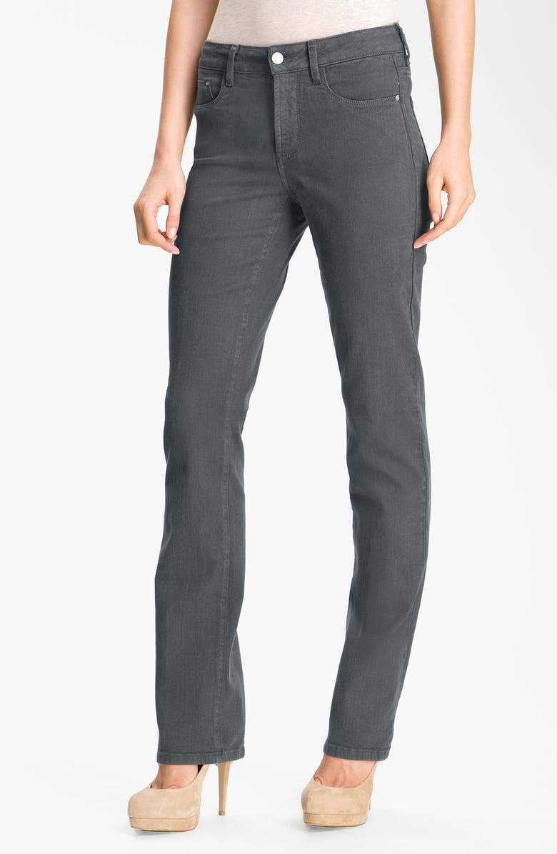NYDJ 'Marilyn' Colored Straight Leg Stretch Jeans, Main, color, 023