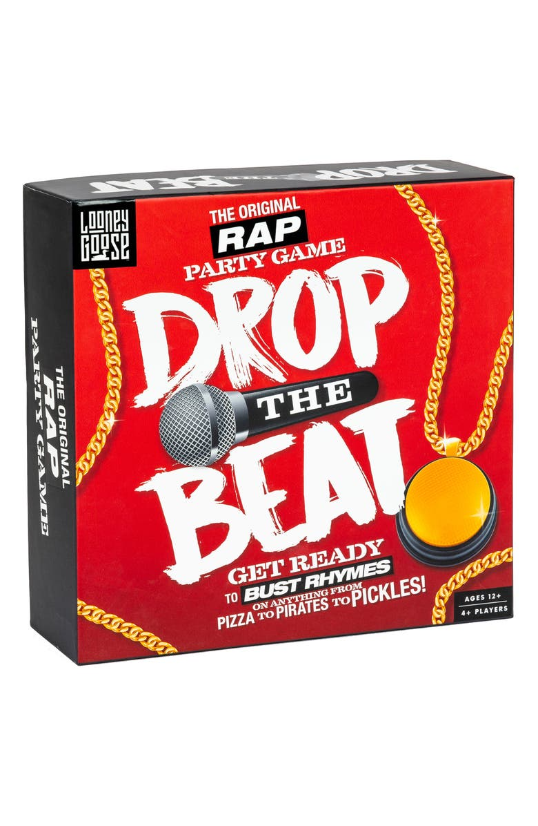 PROFESSOR PUZZLE Drop the Beat Party Game, Main, color, MULTI