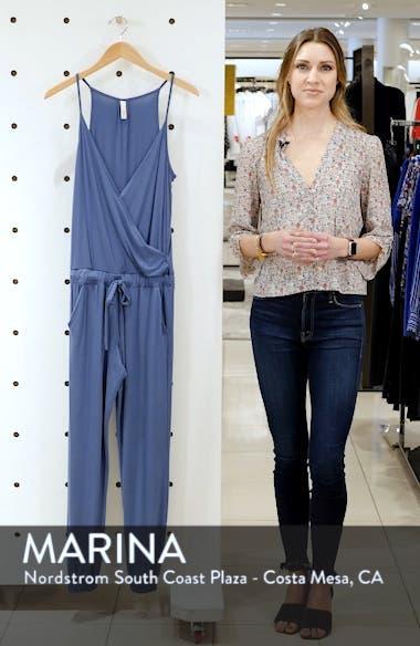 Surplice Cover-Up Jumpsuit, sales video thumbnail