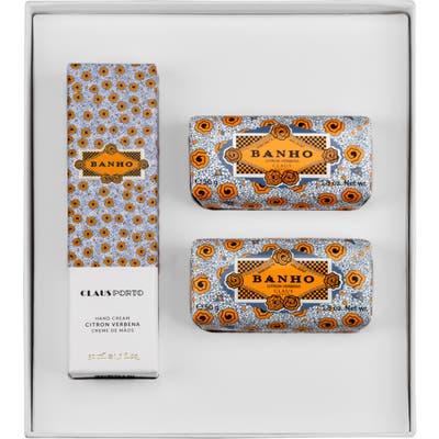 Claus Porto Banho Citron Verbena Set ($40 Value)