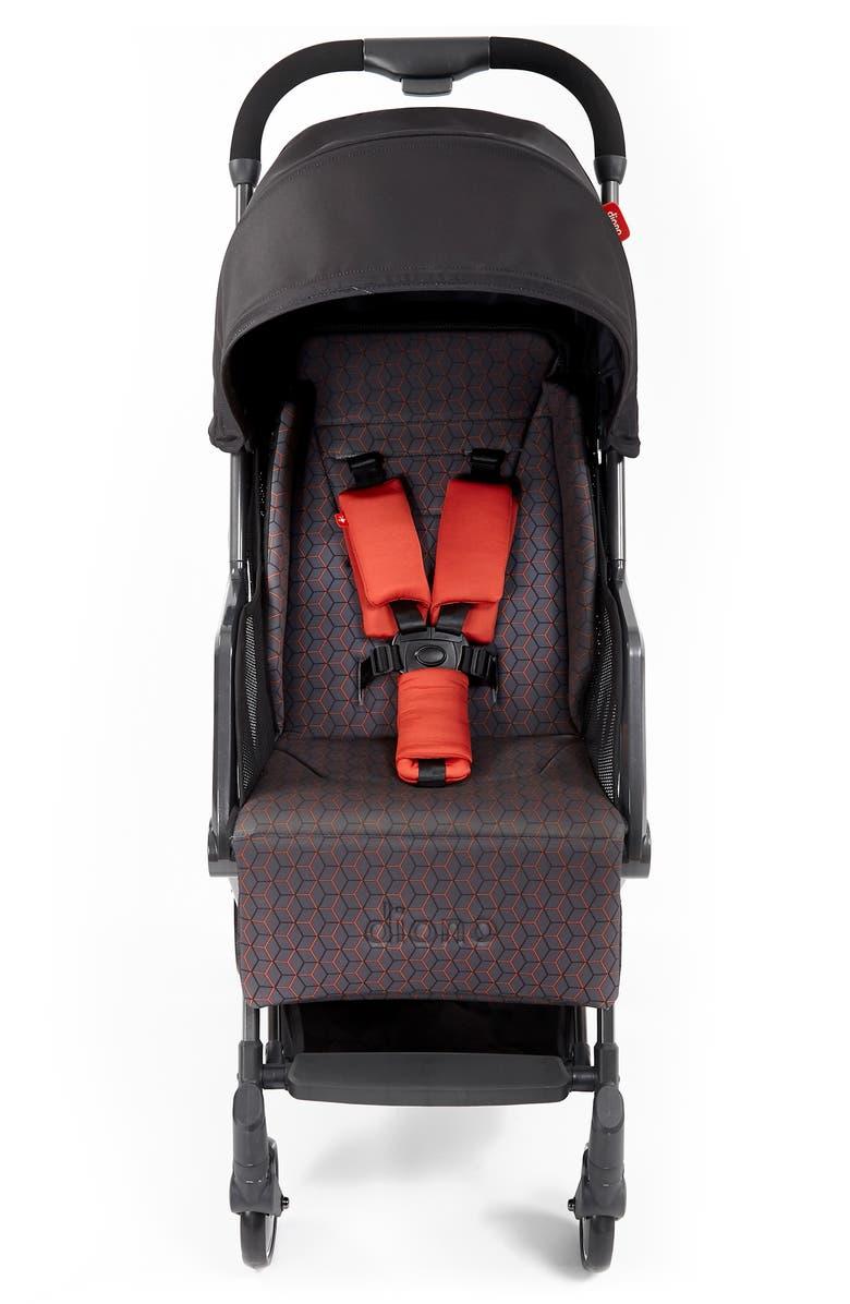 DIONO Traverze Editions Super Compact Stroller, Main, color, CHARCOAL COPPER HIVE